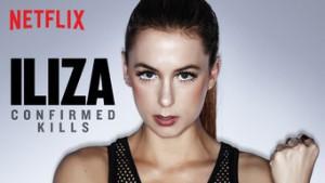 "Capa do especial ""Iliza: Confirmed Kills"". Créditos: Netflix"